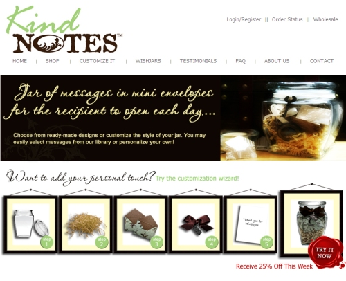 KindNotes Website